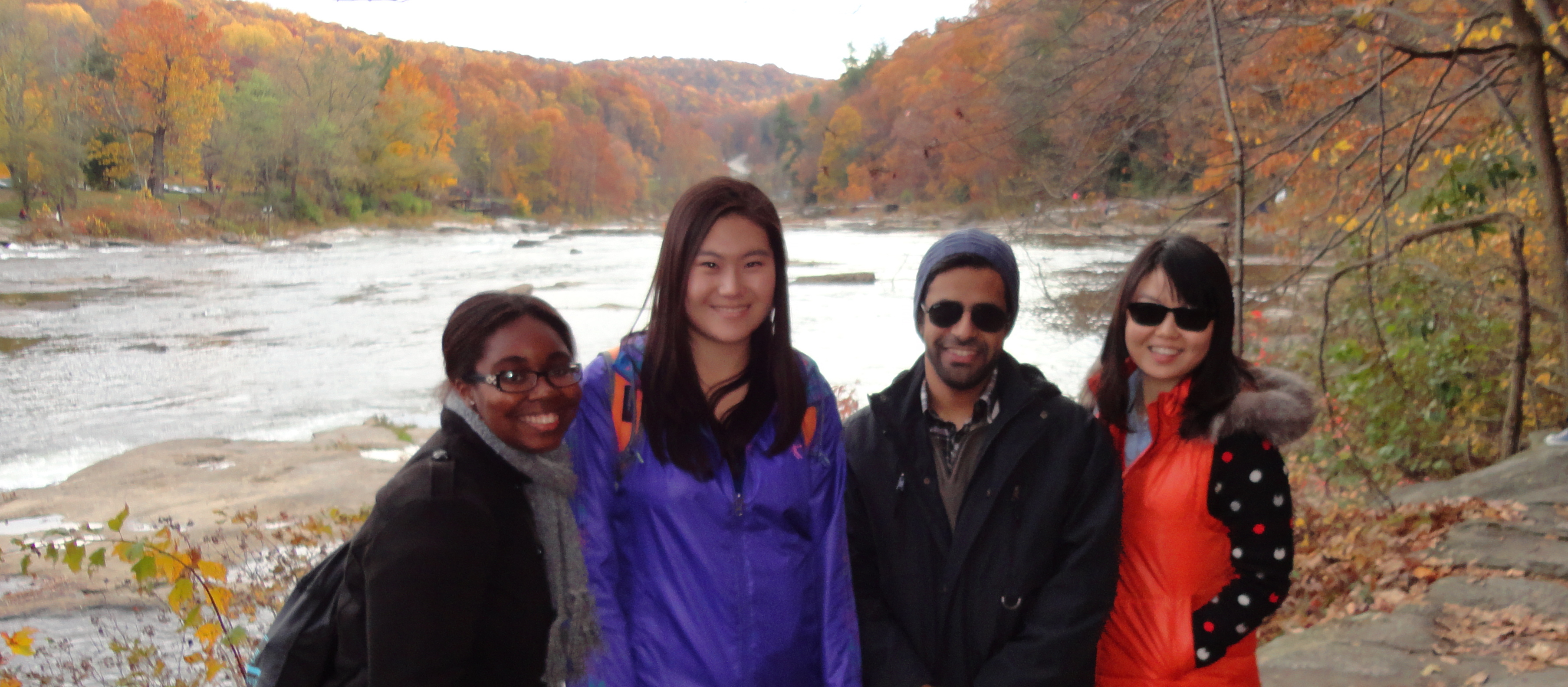ELI Students at nearby Ohiopyle State Park