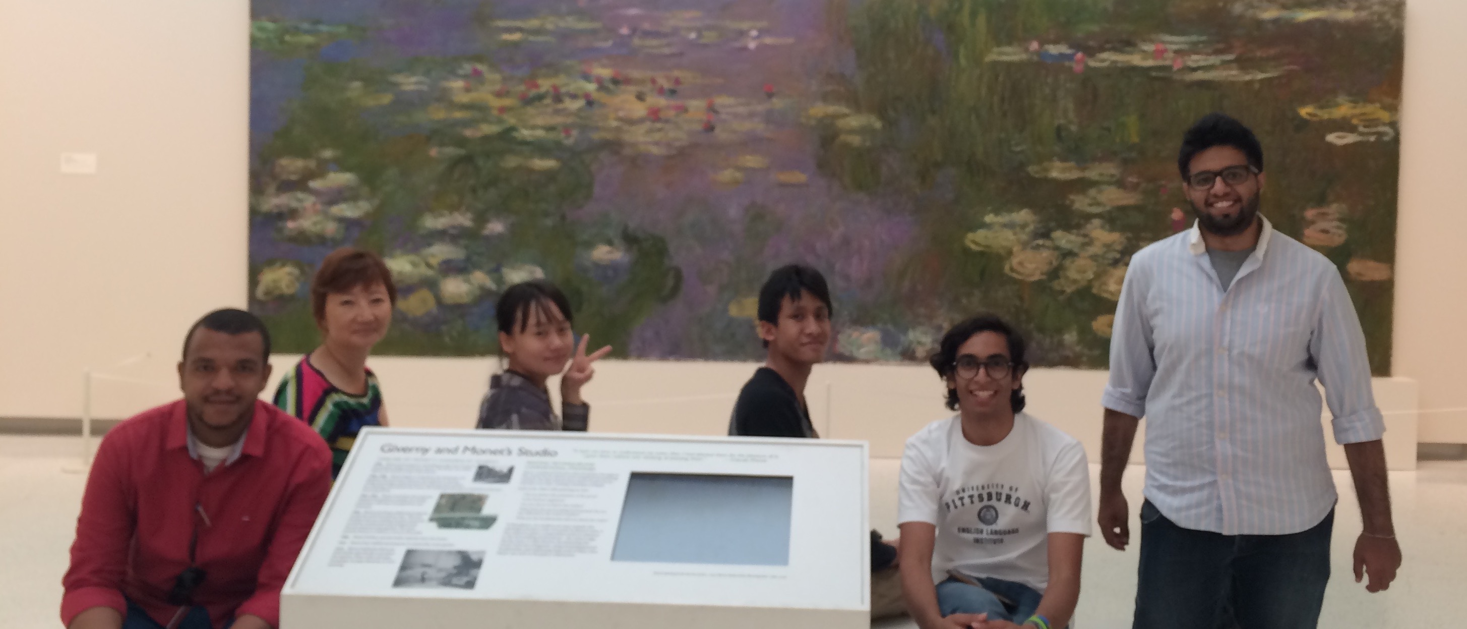 Students at the Carnegie Museum of Art