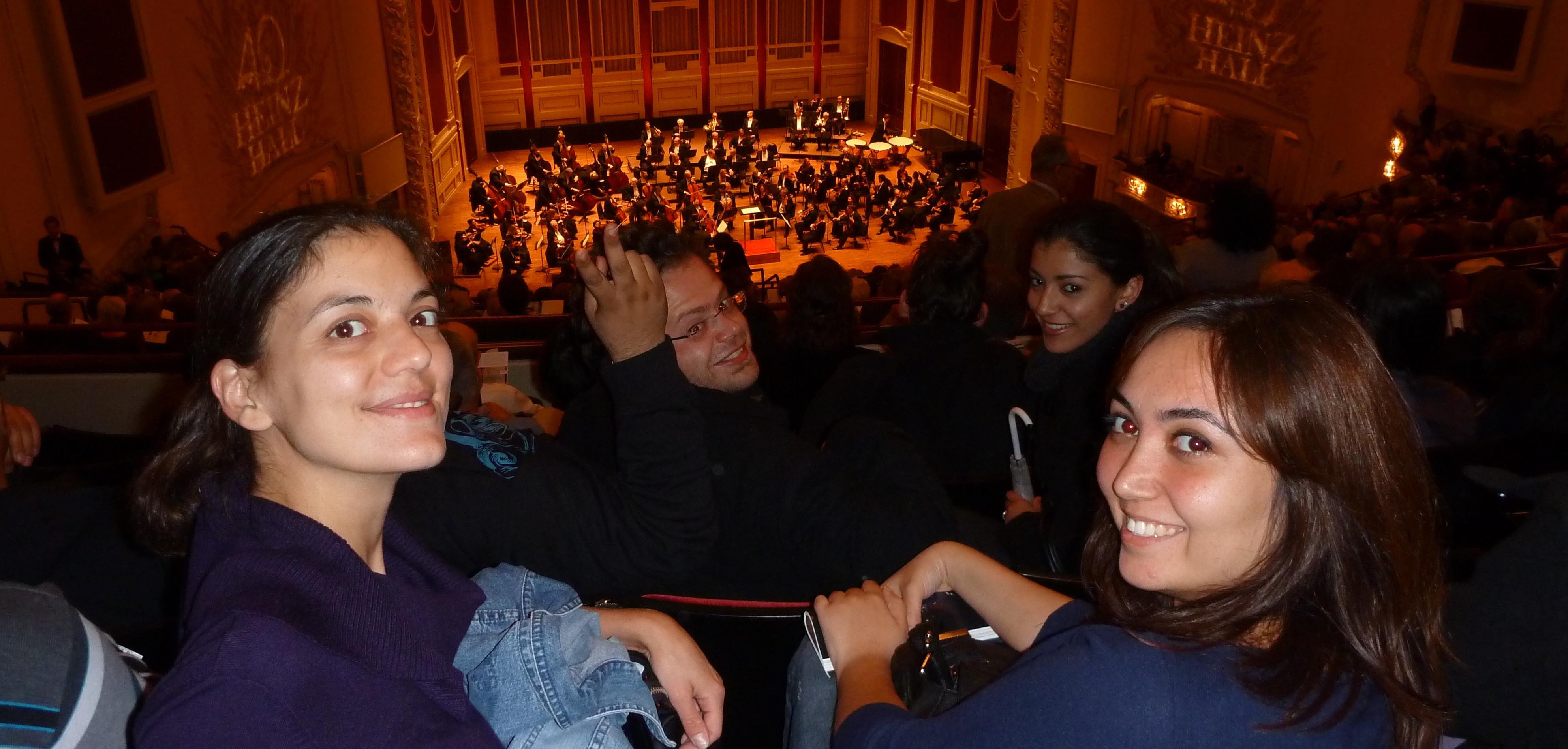 ELI students at the Pittsburgh Symphony